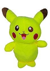 A-Mart soft toy pokemon pikachu yellow small 8 inch