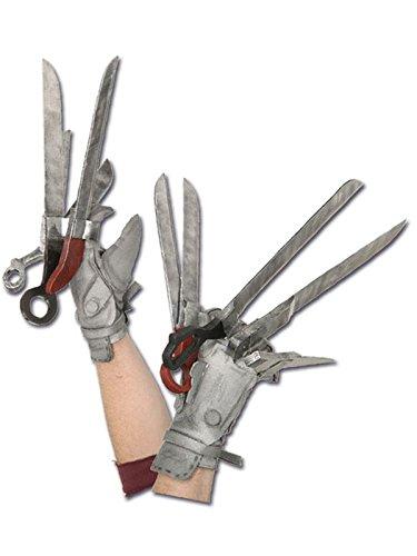 Generique - Handschuhe Edward mit den Scherenhänden für ()