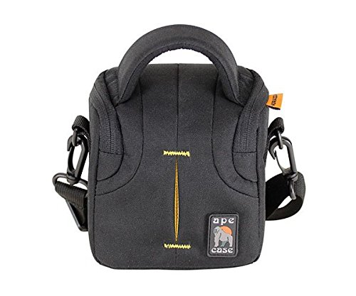 norazza-acpro334-camera-cases-compact-any-brand-belt-hand-shoulder-strap-black-yellow-114-x-64-x-127
