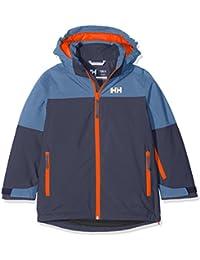Helly Hansen Jr Progress Jacket Abrigo, Niños, (Azul Oscuro), años (Tamaño del Fabricante:12)