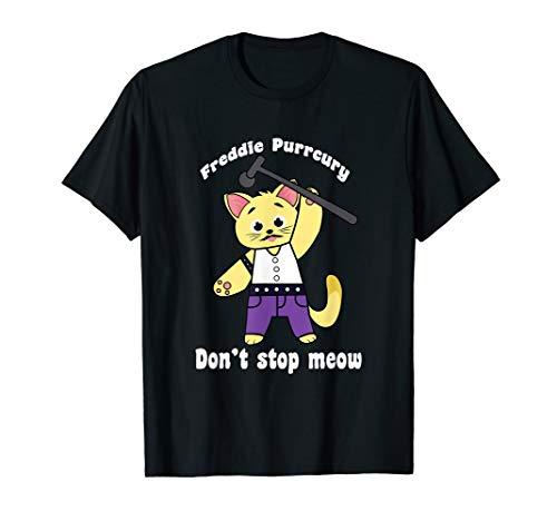 Freddie Purrcury product Don't Stop Meow lustig Katze - Urkomisch Katze Kostüm