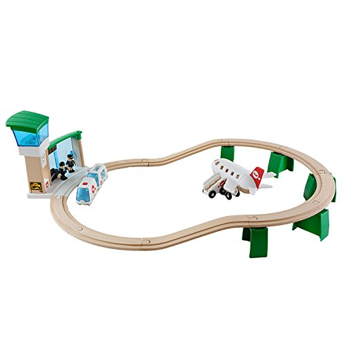 Brio - 33301 - Jeu de Construction - Circuit Aéroport Monorail