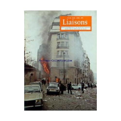 LIAISONS [No 236] du 01/03/1978 - REVUE D'INFORMATION ET DE RELATIONS PUBLIQUES DE LA PREFECTURE DE POLICE