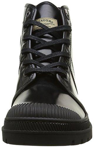 Pataugas Authentique H4b, Cheville Chaussures Lacées Homme Noir
