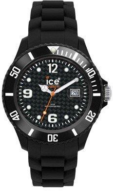 Ice Watch Sili Uni SI.BK.U.S.09 Montre Unisexe Bracelet en silicone