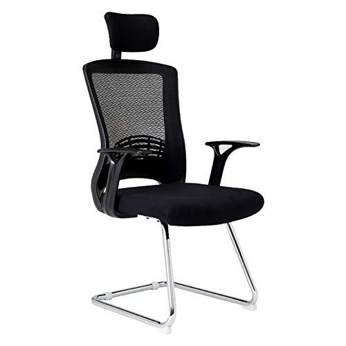 ADHKCF Ergonomisches Mesh-Gewebe-Computer-Büro-Schreibtisch-Stuhl-Schwenker mit Multifunktionsarmlehne und mehrdimensionalem Kopflehnenentwurf (Stil : A) -