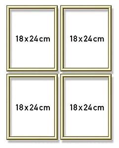 Noris Spiele 605170704 - Schipper Pintura por números Quattro - Marco de Aluminio, 18 x 24 cm