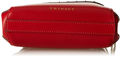 Twin-Set As7pw5, sac bandoulière Rosso (Ultra Red)
