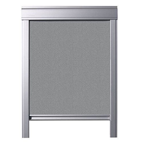 Itzala Blackout Blind For Velux Roof Windows And Skylights C02 Grey