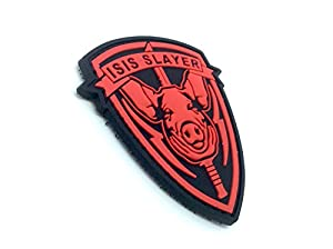 ISIS Slayer Cochon Rouge Airsoft Velcro PVC Patch