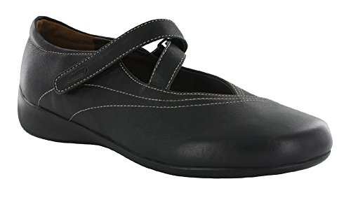 Wolky  Move, Mocassins pour femme 300 Black Smooth Leather
