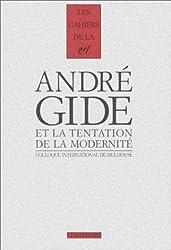 André Gide et la tentation de la modernité : Colloque international de Mulhouse