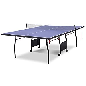 Full Size Folding Outdoor Indoor Table Tennis Table Ping Pong Set with Bats Balls & Net Review 2018 by HLC Metal Parts Ltd.