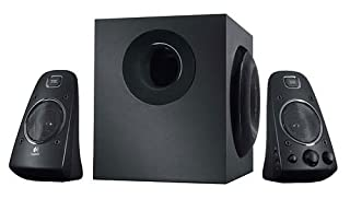 Logitech Z623 2.1 Speaker System for PC/Mac/Linux or Any Device with 3.5 mm and RCA Audio Out, Black (B00413BI7Q) | Amazon price tracker / tracking, Amazon price history charts, Amazon price watches, Amazon price drop alerts