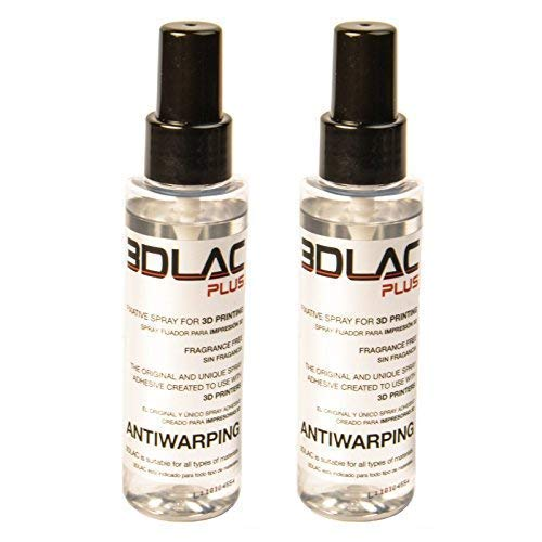 MadridGadgetStore® Pack 2 Botes 3DLAC Plus Bote Spray
