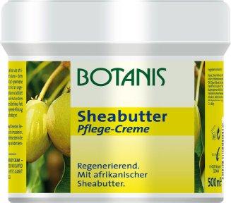 Botanis Sheabutter Pflege-Creme 2 x 500ml