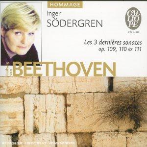 Beethoven : Les Trois Dernières Sonates pour piano op. 109, 110 & 111