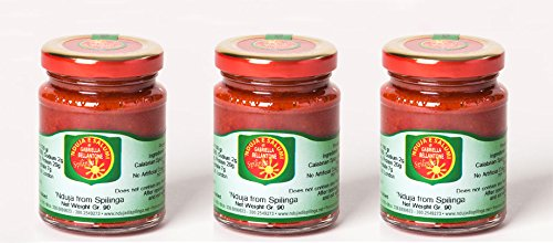 3 x 90g Jars of Nduja Spicy spreadable Sausage from Spilinga