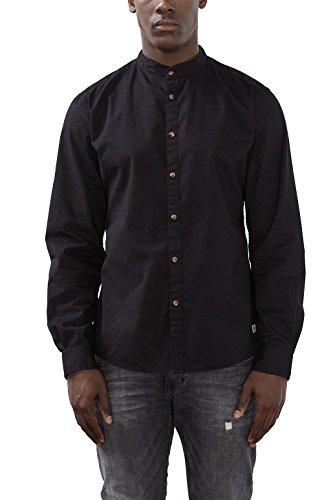 edc by Esprit 106cc2f012, Chemise Casual Homme Noir (black 001)