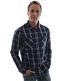 chemise blend of america 703617 bleu
