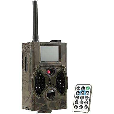 Docooler Macchine Fotografiche da Caccia 940NM Infrarosso IR LED Sensore di Movimento di Ricognizione e Caccia 12MP HD