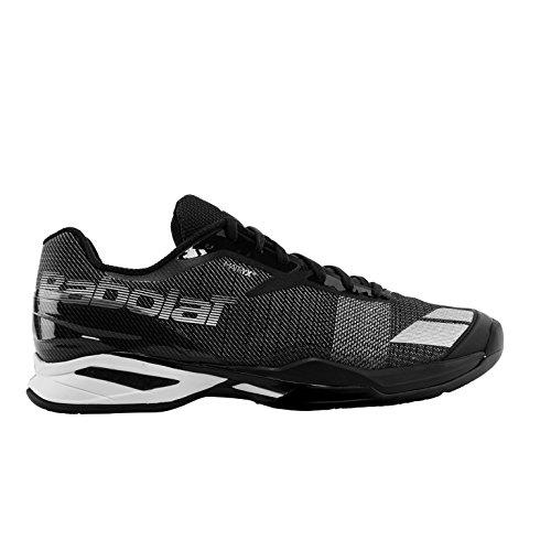Babolat Jet Clay M Chaussures de Tennis Clay Court, Coleur:noir/blanc, Taille: EUR 46