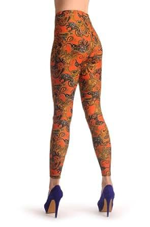 Sunny Cuba - Multicolore Leggings Taille Unique (32-38)