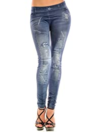 Balingi Jeans Leggings Destroyed Look BASX111