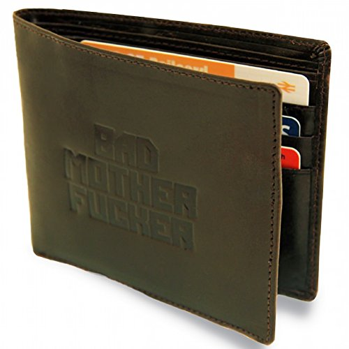 Brown Bad Mutha Wallets as seen on Pulp Fiction