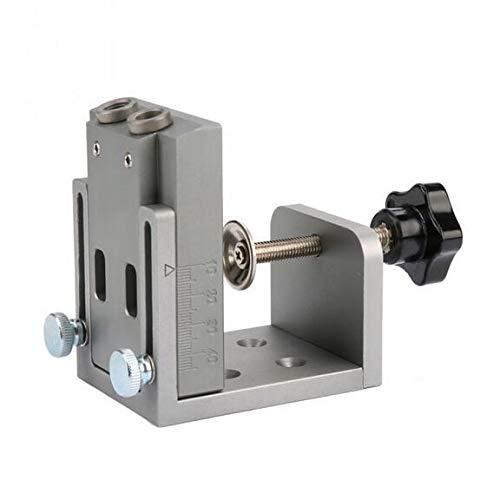 Pocket Hole Puncher Jig Kit Mini Stil Pocket Hole Jig Kit für Holzbearbeitung Schritt Bohrer Set Holzbearbeitungswerkzeuge -