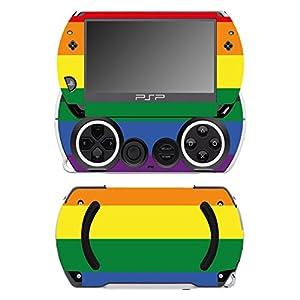 Disagu SF-14232_1222 Design Schutzfolie für Sony PSP Go Motiv Rainbow Pride klar