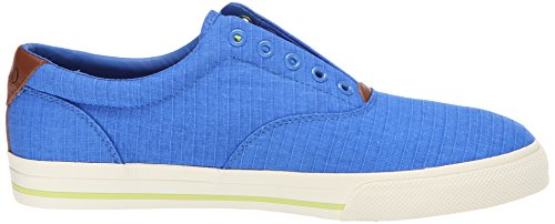Ralph Lauren Mens Vito Textile Trainers Colby Blue