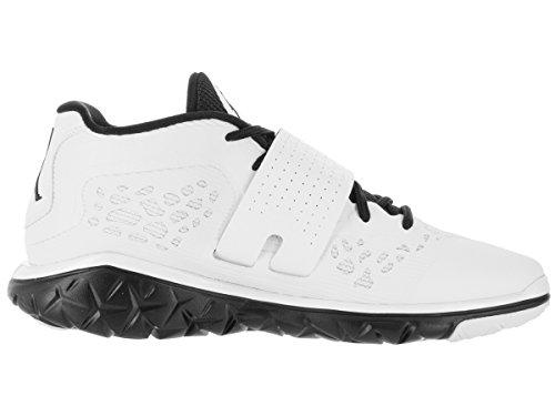Nike  Jordan Flight Flex Trainer 2, Chaussures spécial basket-ball pour homme Multicolore - Negro / Blanco  (Black/White-Black)