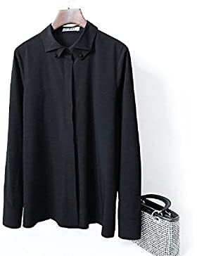 WeLove Mujeres UV Ropa protectora Beach Jacket Slim Fit Long