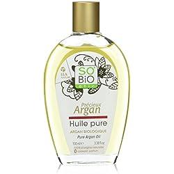 So' Bio étic Olio Pure 100% Argan Bio 100ml–Set di 2