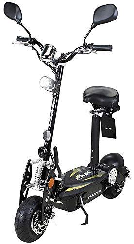 E-Scooter Roller Original E-Flux 20 mit Straßenzulassung und 500 Watt 36 V Motor Elektroroller E-Roller E-Scooter in vielen Farben (schwarz)