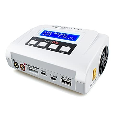 Keenstone UP100AC Plus Lipo Battery Balance Charger AC DC 100W for Li-Po Li-Hv Li-Ion Li-Fe NiMH Ni-Cd P
