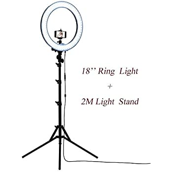 Buy Tioga 18 Inches Big LED Ring Light for Camera, Phone