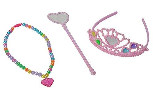 Simba 105562317 - Steffi Love Girls Regenbogen Prinzessin Set (Simba Erwachsene Kostüme)
