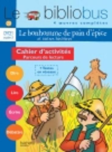 Parcours de lecture de 4 oeuvres littéraires CP/CE1 Cycle 2 : Cahier dactivités