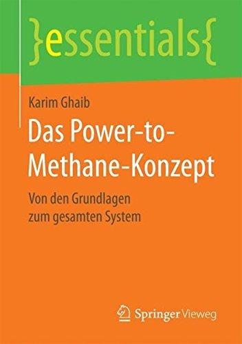 Das Power-to-Methane-Konzept: Von den Grundlagen zum gesamten System (essentials)