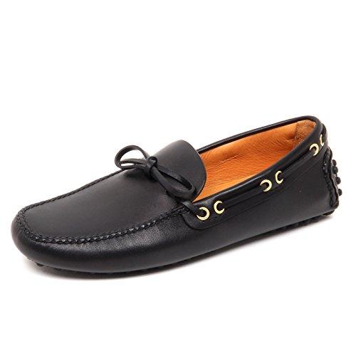 76650 mocassino uomo CAR SHOE nero scarpa uomo loafer shoe men Nero