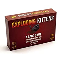 Exploding Kittens A Card Game About Kittens and Explosions and Sometimes Goats ,red  vtop