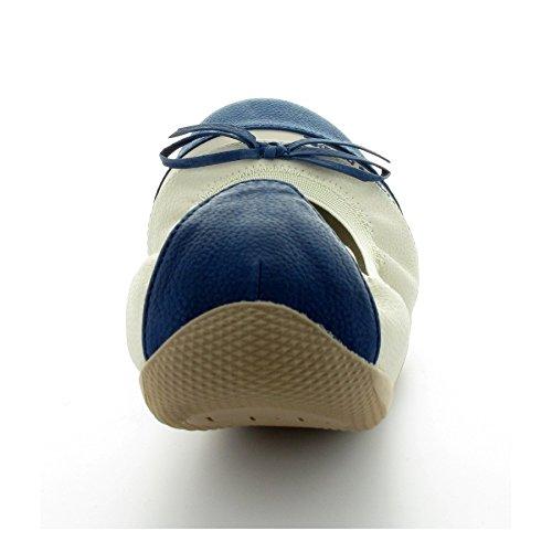 Les P'tites Bombes ,  Ballerine donna Bleue 36 - Bleue