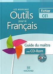 Les nouveaux outils pour le français : Guide du maître (1Cédérom)