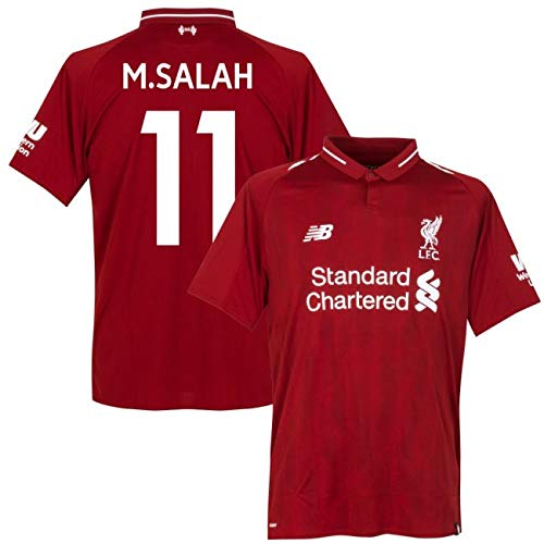 Passthebal Mohamed Salah Jersey Liverpool Shirt Reds Premier League Football  (M) 7c1c69ea2
