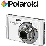 """Appareil photo numerique ultra compact Polaroid iE826 de 18 megapixels (18 Mpx, zoom optique 8x, batterie Li-Ion, ecran 2,4"""") (blanc)"""