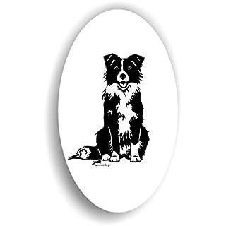 Hunde Border Collie Sticker Auto Aufkleber Art.ST0138 , Autoaufkleber Wohnmobil Wohnwagen amberdog