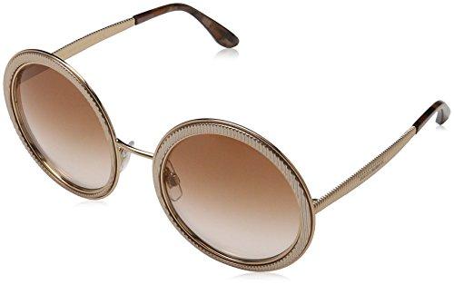 Dolce & Gabbana Damen 0DG2179 129813 54 Sonnenbrille, Pink Gold/Pinkgradient