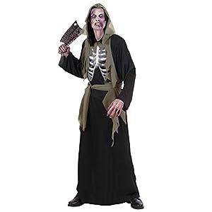 WIDMANN Desconocido Déguisement de Squelette Zombie - Adulte (XL - 56)